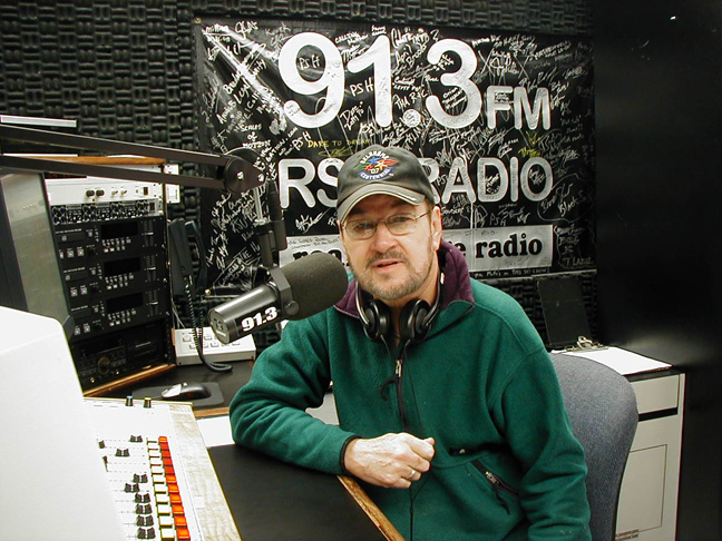 Don White in studio